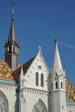 BUDAPEST, HUNGARY/EUROPE - WRZESIEŃ 21: Matthias kościół w Bu fotografia stock