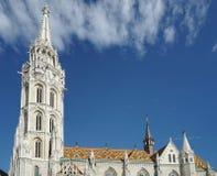 BUDAPEST, HUNGARY/EUROPE - WRZESIEŃ 21: Matthias kościół w pączku Obrazy Stock