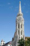 BUDAPEST, HUNGARY/EUROPE - WRZESIEŃ 21: Matthias kościół w pączku obrazy royalty free