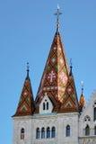 BUDAPEST, HUNGARY/EUROPE - WRZESIEŃ 21: Matthias kościół w pączku Obraz Royalty Free