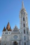 BUDAPEST, HUNGARY/EUROPE - WRZESIEŃ 21: Matthias kościół w pączku zdjęcie stock