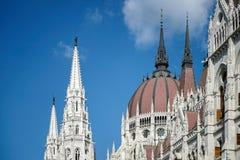 BUDAPEST, HUNGARY/EUROPE - WRZESIEŃ 21: Węgierski parlamentu b zdjęcie stock