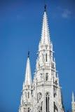 BUDAPEST, HUNGARY/EUROPE - WRZESIEŃ 21: Węgierski parlamentu b obraz stock