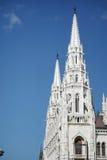 BUDAPEST, HUNGARY/EUROPE - WRZESIEŃ 21: Węgierski parlamentu b zdjęcie royalty free