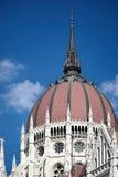 BUDAPEST, HUNGARY/EUROPE - WRZESIEŃ 21: Węgierski parlamentu b fotografia stock