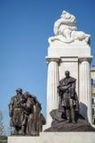 BUDAPEST, HUNGARY/EUROPE - WRZESIEŃ 21: Tisza statua w Bu Zdjęcia Stock