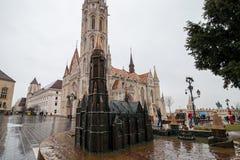 Matyas templom stock photo