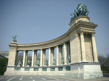 Budapest, Hungary. Heroes' Square Royalty Free Stock Photos