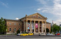 BUDAPEST, HUNGARY, JULY 10, 2018: The Hungarian National Museum is for the history, art and archaeology. Hungarian stock photos