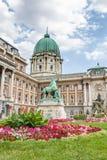 BUDAPEST, HUNGARY, - JULY 21, 2015:  Royal palace or Buda castle Stock Photos
