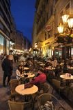 Budapest cafe royalty free stock images