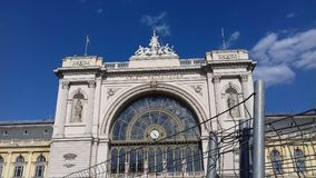 Budapest, Hungary. Keleti railway station Royalty Free Stock Photos