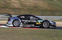 Budapest, Hungary, March 30 - 2014 DTM Mercedes Royalty Free Stock Photography