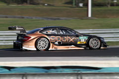 Budapest, Hungary, March 30 - 2014 DTM Mercedes Royalty Free Stock Image