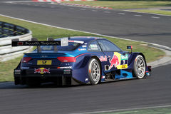 Budapest, Hungary, March 30 - 2014 new DTM Audi Royalty Free Stock Images