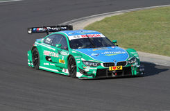 Budapest, Hungary, March 30 - 2014  new DTM BMW Royalty Free Stock Image