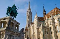 Budapest, Hungary, Matthias Church stock image
