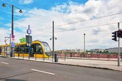 BUDAPEST, HUNGARY-MAY 03, 2016: Piękny krajobrazowy miastowy widok Zdjęcie Stock