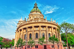 BUDAPEST, HUNGARY-MAY 04, 2016: St.Stephen Basilica in Budapest Royalty Free Stock Image