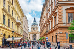BUDAPEST, HUNGARY-MAY 02,2016: StStephen-Basilika in Budapest an Lizenzfreies Stockfoto