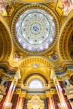 St. Stephen Basilica dome, Hungary Royalty Free Stock Photography