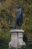 BUDAPEST, HUNGARY-NOVEMBER: Statue von Vak Bottyan, Held von Budapest, Ungarn Stockfotografie