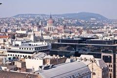 budapest hungary panorama Fotografering för Bildbyråer