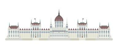 budapest hungary parlament också vektor för coreldrawillustration vektor illustrationer