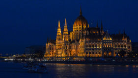 Budapest, Hungary (Parliament) Stock Photo
