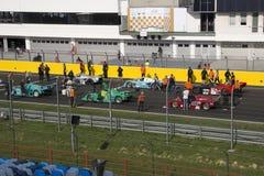 Start classic car race Stock Photography