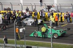 Start classic car race Royalty Free Stock Photos