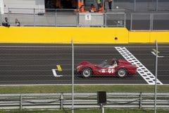 Start classic car race Royalty Free Stock Image