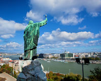Budapest, Hungary. View from Gellert Hill Royalty Free Stock Images
