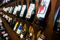 Budapest/Hungary - 01-21-2018: Wineshop Hungarian Wine Showcase Villany wines region