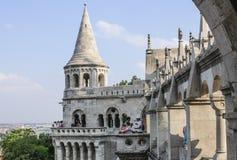 Budapest Hungría Europa el bastión de los pescadores imágenes de archivo libres de regalías