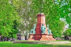 BUDAPEST, HUNGRÍA - MAYO 02,2016: Istvan Szechenyi Monument Istvan Fotografía de archivo