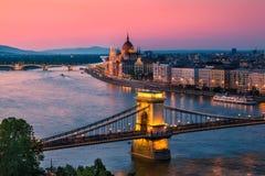 Budapest, Hungria Foto de Stock Royalty Free