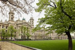 Budapest, Hungria - 17 de abril de 2018: Lajos Kossuth Square fotos de stock