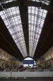 Budapest, Hungria Estação de trem de Keleti foto de stock royalty free