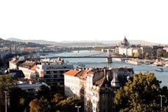 Budapest - huvudsaklig sikt royaltyfria bilder