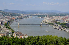 Budapest huvudstaden av Ungern Arkivbilder