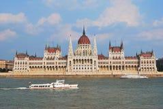 Budapest, il Parlamento alloggia Immagini Stock Libere da Diritti
