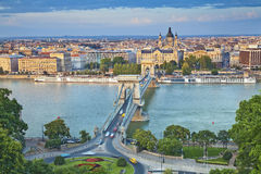 Budapest. Image of Budapest, capital city of Hungary, during sunny afternoon Royalty Free Stock Photo