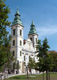 Budapest, Inner City Parish Church stock image