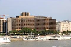 Budapest InterContinental hotel Royalty Free Stock Image