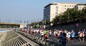 Budapest International Marathon Stock Photos