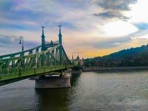 Budapest jest zadziwiającym miastem w świacie obrazy royalty free
