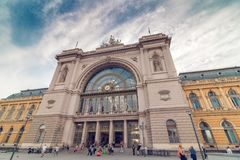 Budapest Keleti Railway Station Stock Photos