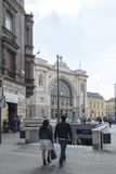 Budapest Keleti railway station Royalty Free Stock Photo