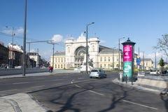 Budapest Keleti railway station Stock Images